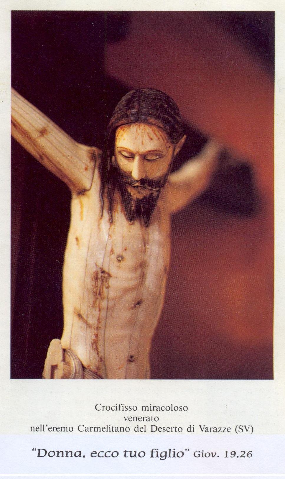Crocifisso dell'Eremo di Varazze (cercando un'immagine per i miei blog religiosi ho trovato questo bellissimo crocifisso) dans immagini sacre crocifisso-miracoloso